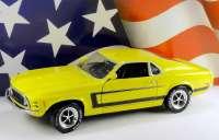 Ford Mustang Grabber 1970 gelb Ertl 39060M