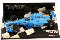 Benetton Playlife Showcar Formel 1 2000 Nr.11 Giancarlo Fisichella - Minichamps 430000081