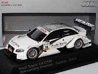 """Audi A4 DTM 2009 (Modell 2008) """"Phoenix, Audi Bank"""" Nr.14, Alexandre Prémat Werbemodell Spark 5020900183"""