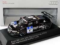 """Audi R8 LMS 24 Stundenrennen Nürburgring 2009 """"Abt Sportsline, Playstation"""" Nr.97, Luhr / Abt / Hemroulle / Kaffer Werbemodell Spark 5020918413"""