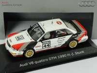 "Audi V8 DTM 1990 ""SMS"" Nr.44, H.J.Stuck Werbemodell Minichamps 5030900403"