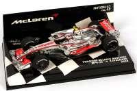 "McLaren Mercedes MP 4-23 Formel 1 2008 ""Vodafone"" Nr.23, Heikki Kovalainen Minichamps 530084323"