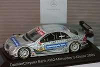 "Mercedes-Benz C-Klasse DTM 2004 ""Mercedes-Bank"" Nr.2, Christijan Albers Werbemodell Minichamps B66962208"