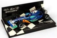 "Sauber Petronas C24 Formel 1 2005 ""Petronas"" Nr.11, J. Vinneneuve Minichamps 400050011"