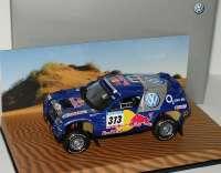 """VW Race Touareg 2005 Rallye Dakar """"VW, Red Bull"""" Nr.313, Kankkunen/Repo Werbemodell Minichamps 7L0099400PD313"""