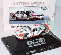 """Audi V8 Evolution DTM 1991 """"AZR"""" Nr.44, Jelinski herpa 3540"""