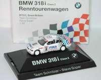 "BMW 318i (E36) BTCC 1994 ""Schnitzer, Fina"" Nr. 2, Steve Soper Werbemodell herpa 80419420606"