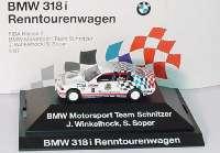 """BMW 318i (E36)  FISA Klasse 2 Renntourenwagen 1993 """"Schnitzer"""" Nr.6 J. Winkelhock/S. Soper Werbemodell herpa 80419419976"""