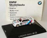 """BMW M3 (E30) DTM 1990 """"Linder, Vogelsang"""" Nr.12, Nissen Werbemodell herpa 82229417845"""