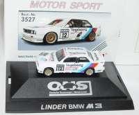"""BMW M3 (E30) DTM 1990 """"Linder, Vogelsang"""" Nr.12, Nissen herpa 3527"""