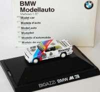 "BMW M3 (E30) DTM 1991 ""Bigazzi"" Nr.12, Hahne Werbemodell herpa 82229417884"