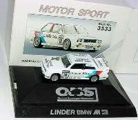 """BMW M3 (E30) DTM 1991 """"Linder, Original BMW Teile"""" Nr.16, Heger herpa 3533"""