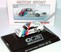 "BMW M3 (E30) DTM 1992 ""Schnitzer, Original BMW Teile"" Nr.16, Heger herpa 035514"