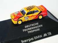 "BMW M3 (E30) DTT 1992 ""Herpa Miniatur Modelle"" Nr.29, Neumeister herpa 035484"