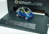 MCC Smart City-Coupé (2nd generation) star-blue-met./silber-met. Werbemodell Busch 0012445V002C55Q00