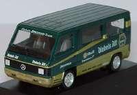 """Mercedes-Benz 100D Bus """"Diebels Alt Zakspeed"""" herpa 035620"""