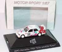 "Mercedes-Benz 190E 2.5-16 Evolution II DTM 1993 ""DTM Junior Team, Unix Rent"" Nr.20, Grau herpa 035798"