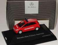 Mercedes-Benz B-Klasse (W245) Feuerwehr rot Werbemodell herpa B66961387