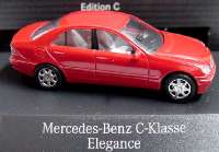 Mercedes-Benz C-Klasse Elegance (W203) magmarot Werbemodell Busch B66960611