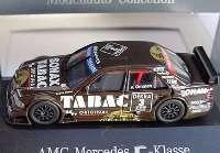 Mercedes-Benz C-Klasse W202 DTM 1995 AMG Tabac Sonax Nr. 3 Jörg van Ommen - Werbemodell herpa B6 600 5311