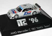 "Mercedes-Benz C 180 (W202) ITC 1996 ""AMG, D2 Privat"" Nr.2, Dario Franchitti herpa 036900"
