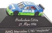 """Mercedes-Benz C 180 ITC 1996 """"Persson, Point S"""" Nr.22, Mayländer (Hockenheim Edition) herpa 036726"""