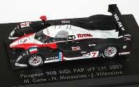 "Peugeot 908 HDi FAP LeMans 2007 ""Total"" Nr.7, Gene / Minassian / Villeneuve Spark 87S012"