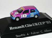 "Renault Clio 16V UKCup ´93 ""Davies"" Nr.4, C. Albon herpa 035910"