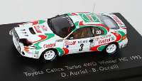 "Toyota Celica Turbo 4WD Rallye Monte Carlo 1993 ""Castrol"" Nr.3, Auriol / Occelli (Siegerfahrzeug) Spark 87S023"
