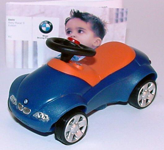 Foto 1:11  BMW Baby-Racer II Pullback blau/rot Werbemodell 80930394901