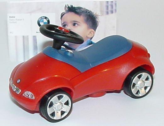 Foto 1:11  BMW Baby-Racer II Pullback rot/blau Werbemodell 80930394901