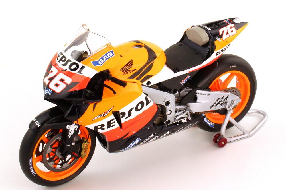 Foto 1:12 Honda RC211V MotoGP 2006 Repsol Nr.26 Dani Pedrosa - Minichamps 122061026