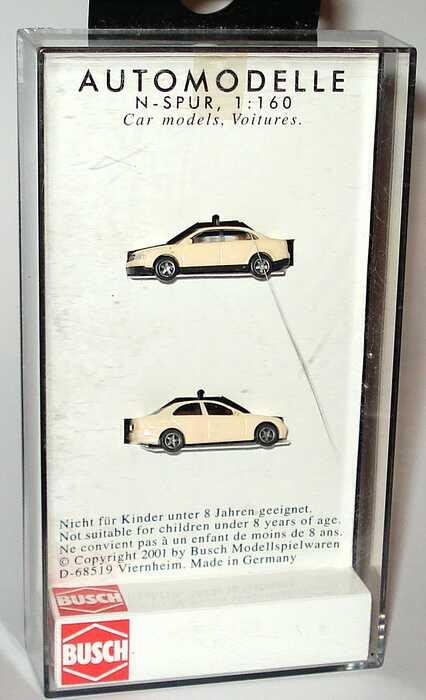 Foto 1:160 Taxi-Set (Audi A4 + Mercedes-Benz C-Klasse) Spur N Busch 8341