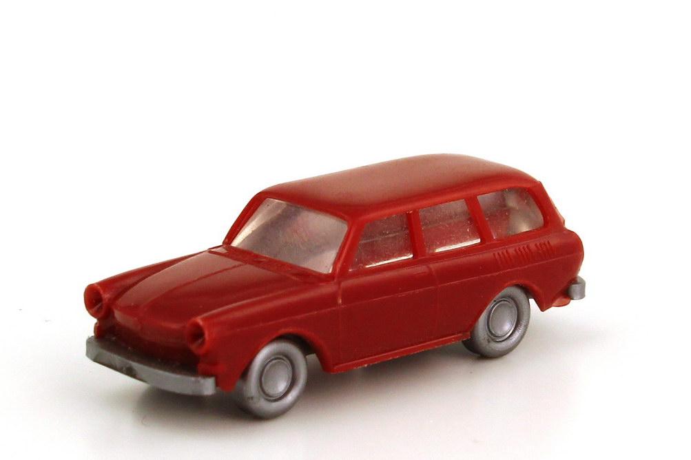 Foto 1:160 VW 1500 Variant rubinrot Wiking AusSet912