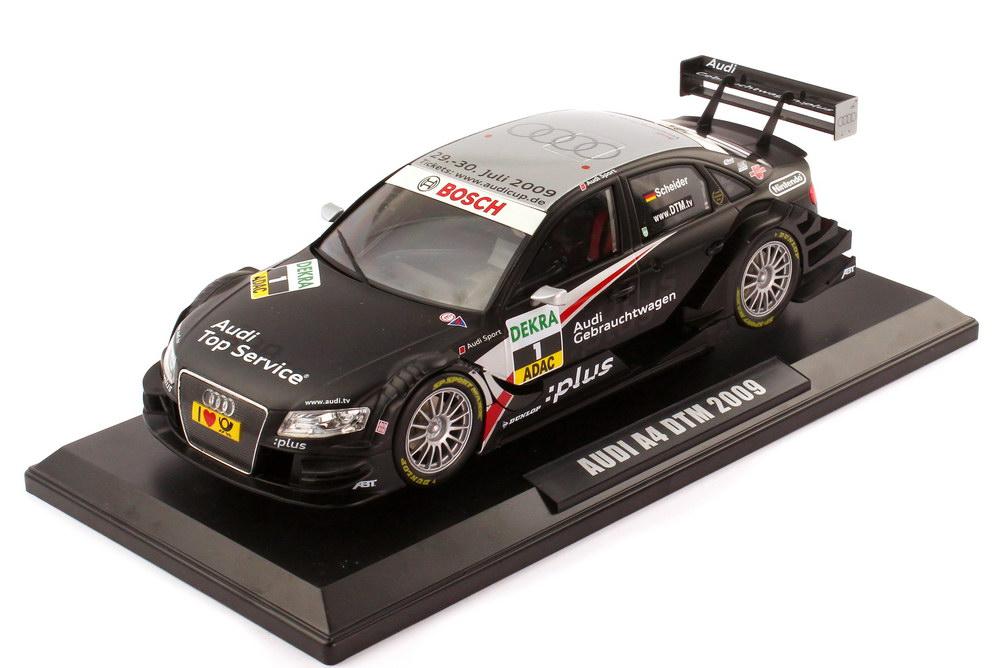 Foto 1:18 Audi A4 DTM 2009 Abt GW:plus Top Service Nr.1 Timo Scheider - Norev 188331