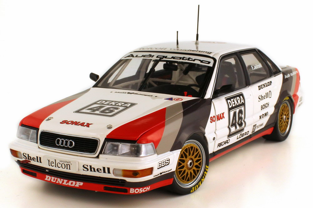 1 18 audi v8 quattro dtm 1990 sms frank jelinski. Black Bedroom Furniture Sets. Home Design Ideas