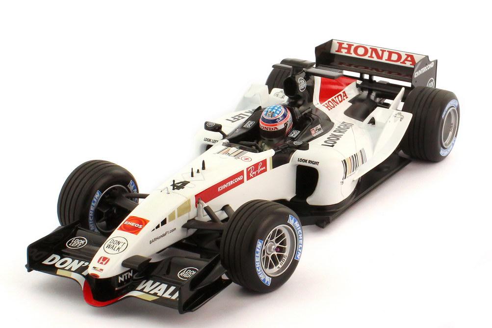 Foto 1:18 BAR Honda 007 Formel 1 2005 Nr.4 Takuma Sato - Minichamps 100050004