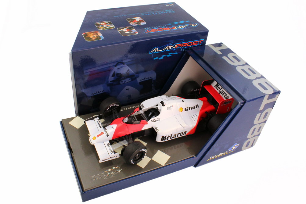 Foto 1:18 McLaren MP 4 2C Formel 1 1986 Marlboro Nr.1 Alain Prost - Solido 83503