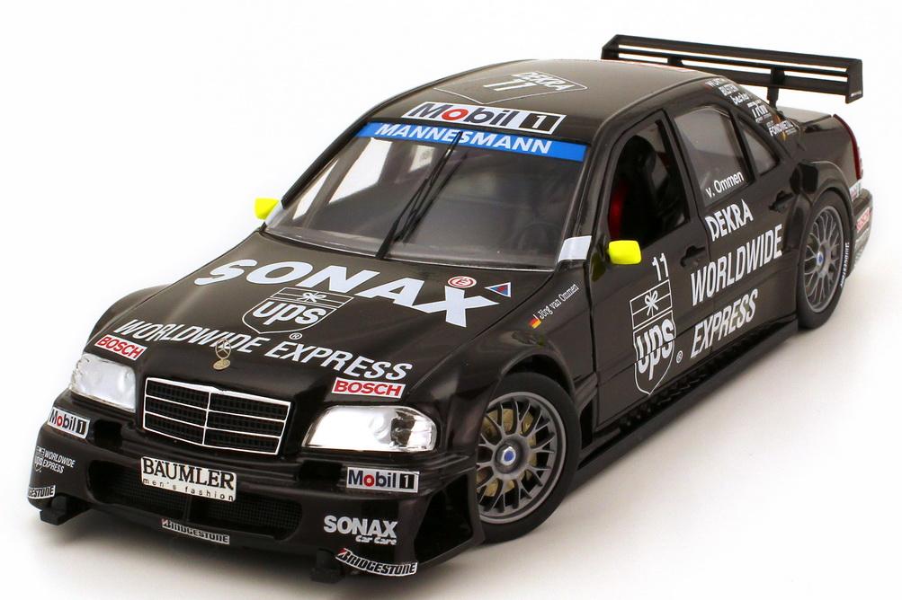 Foto 1:18 Mercedes-Benz C-Klasse W202 ITC 1996 AMG UPS Nr.11 Jörg van Ommen Exclusiv Cars 960053