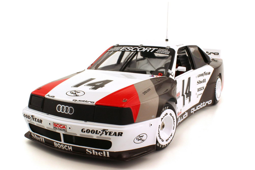 Foto 1:18 Audi 200 quattro Trans Am 1988 Nr.14, Hans-Joachim Stuck (Winner Trans-Am-Weekend Cleveland) Minichamps 100881314