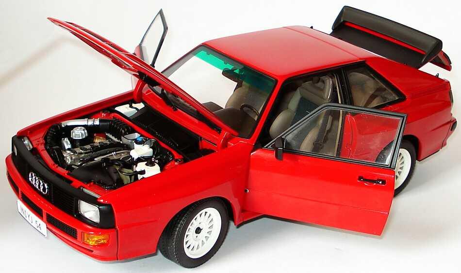 Foto 1:18 Audi Sport quattro rot Werbemodell AUTOart 5030400205