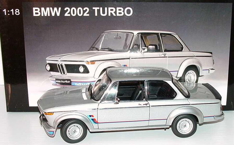 Foto 1:18 BMW 2002 turbo silbermet., BMW-M-Design AUTOart 70502