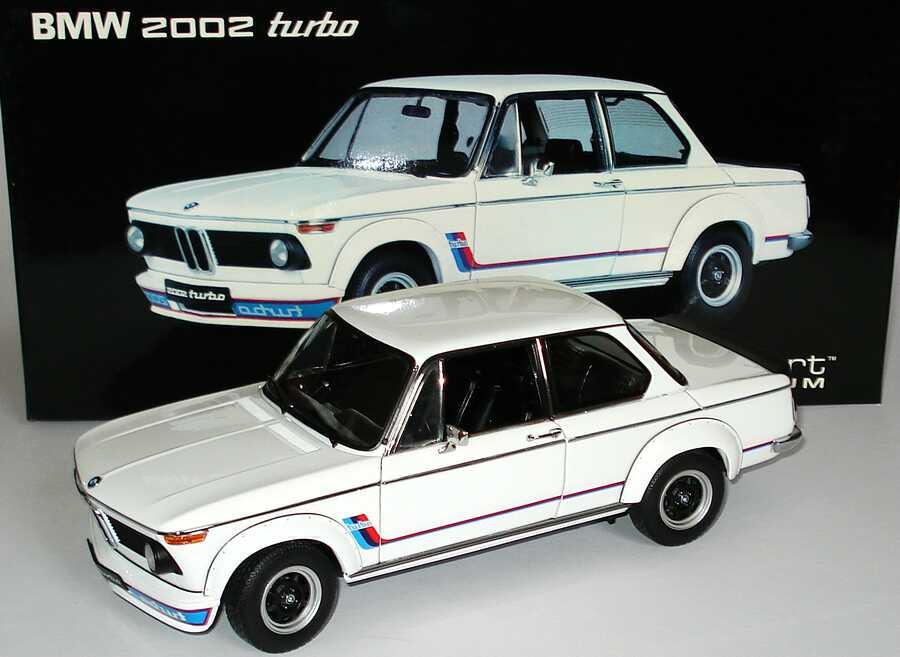 Foto 1:18 BMW 2002 turbo weiß, BMW-M-Design AUTOart 70501