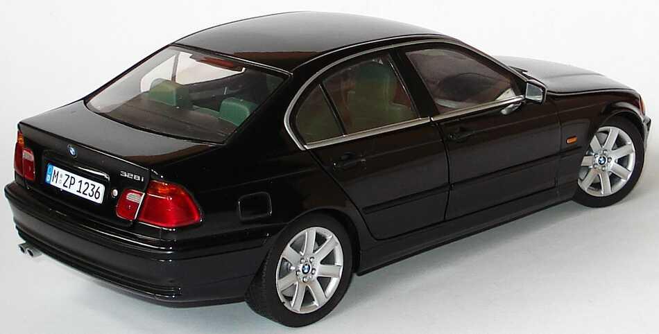 Foto 1:18 BMW 328i (E46) schwarzmet.Werbemodell Der neue 328i UT Models 80439422373