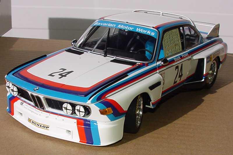 Foto 1:18 BMW 3,5 CSL IMSA 24 h-Sebring 1975 Nr.24, Stuck/Posey Werbemodell Minichamps 80430139188