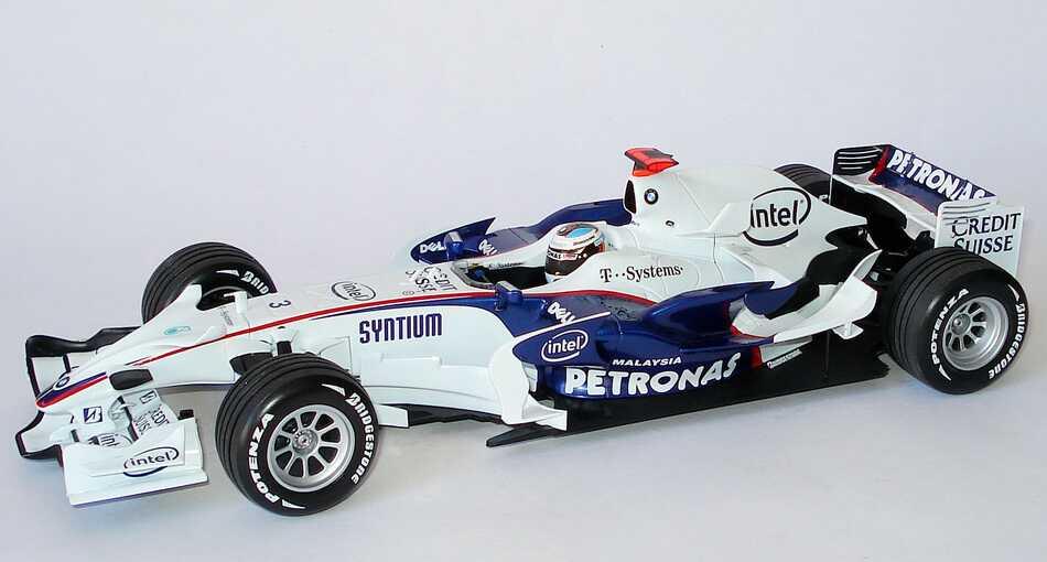 Foto 1:18 BMW Sauber F1.08 Formel 1 2008 Petronas Nr.3, Nick Heidfeld Minichamps 100080003