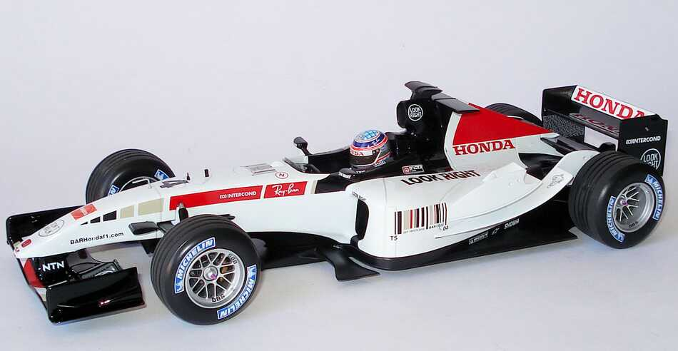 Foto 1:18 BAR Honda 007 Showcar Formel 1 2005 Nr.4 Takuma Sato - Minichamps 100050074
