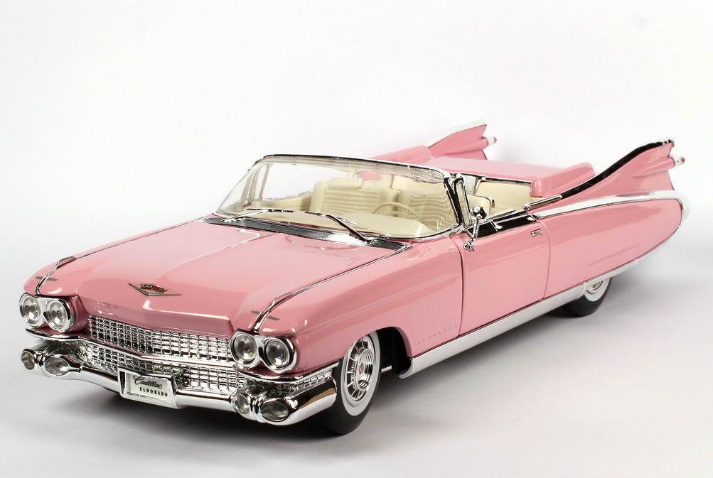 Cadillac Eldorado Biarritz 1959 Pink Maisto 36813 In Der