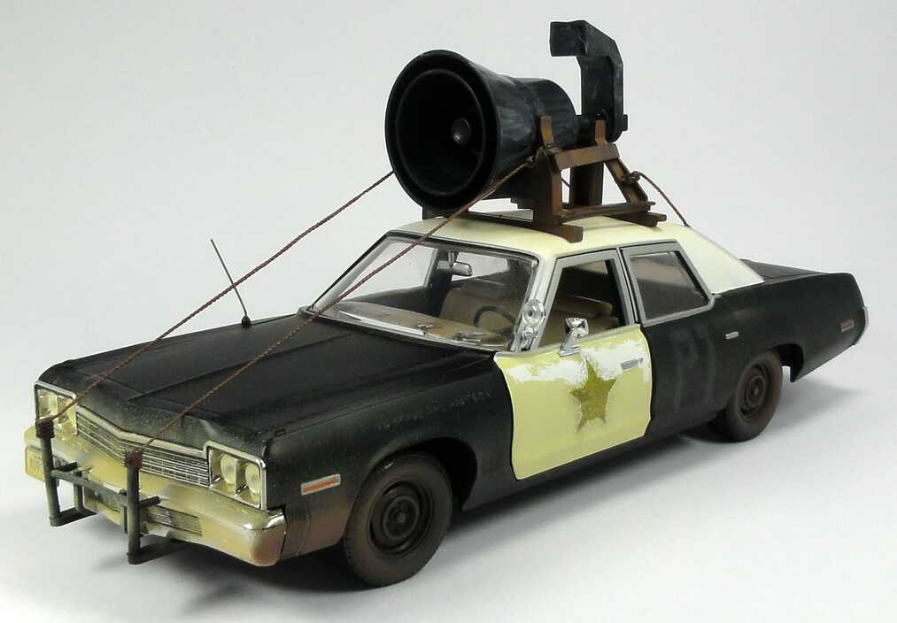 Foto 1:18 Dodge Monaco 1974 Police-Car Bluesmobile (TV-Movie: The Blues Brothers) Ertl 33855