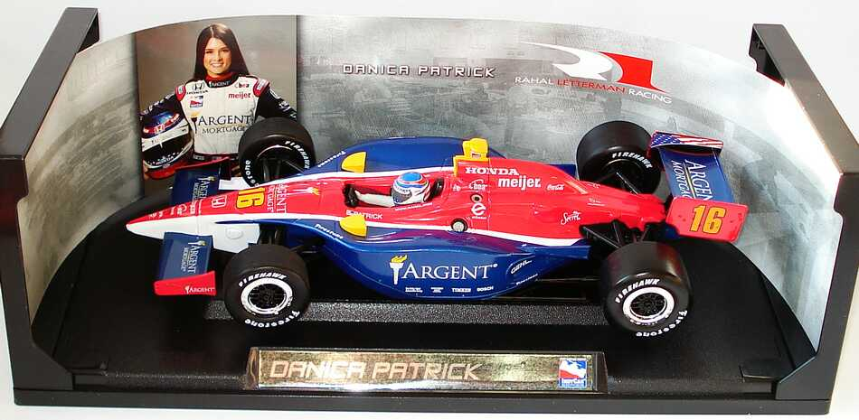 Foto 1:18 Indy Car 2005 Rahal Letterman Racing, Argent Nr.16, Danica Patrick Greenlight